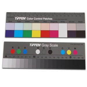 TIFFEN Q-13色阶卡 色阶图 灰阶卡 Kodak Color Separation Guide with Gray Scale (Small)